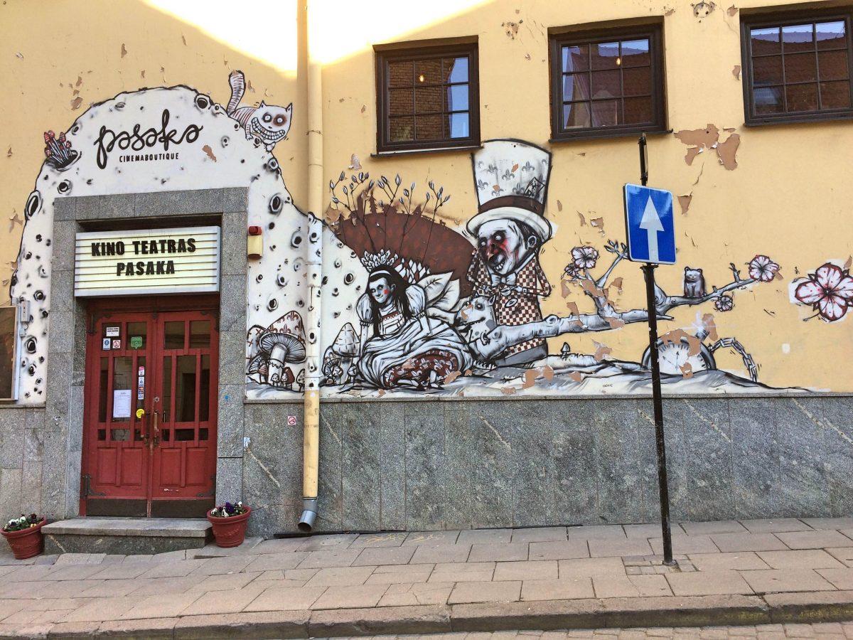 Streetart Vilnius